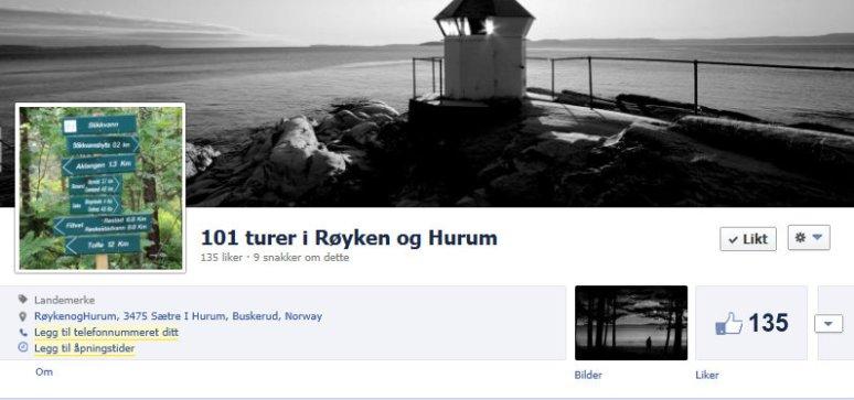 101 turer på Facebook